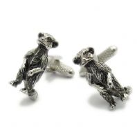 Meerkat Cufflinks by Onyx Art in Gift Box CK817